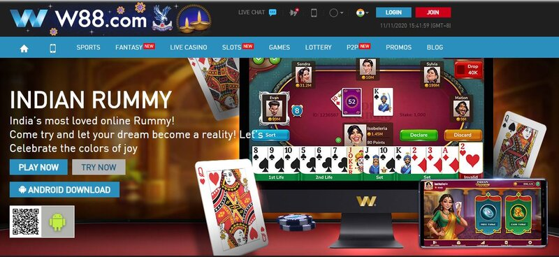 W88 In Offers the Best Poker Games