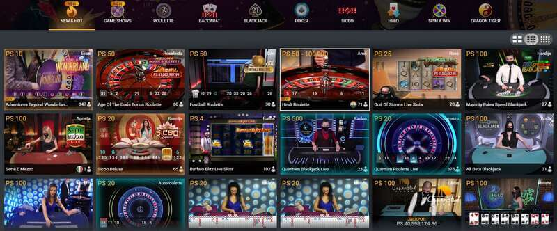 W88 Club VIP Casino Experience - Club Pallazo