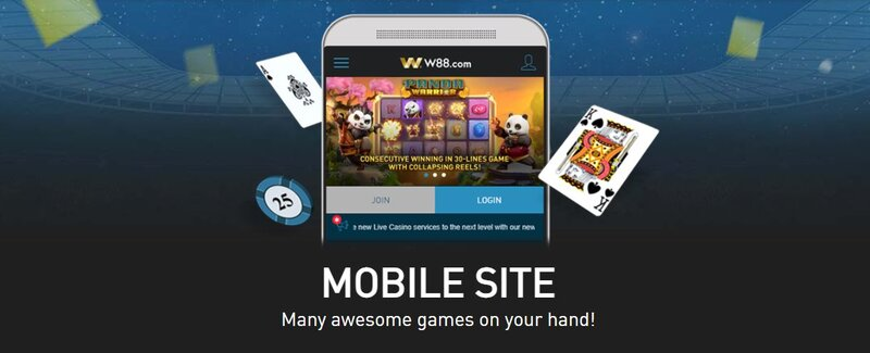 Direct Access to The World of Gambling with m.W88