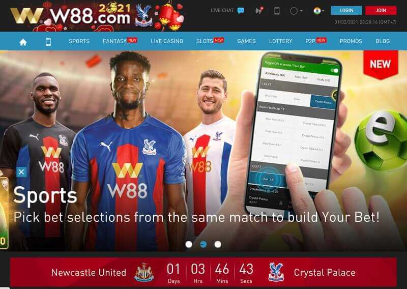 W88 In Offers the Best Sports, Casinos, and Other Qualified Games