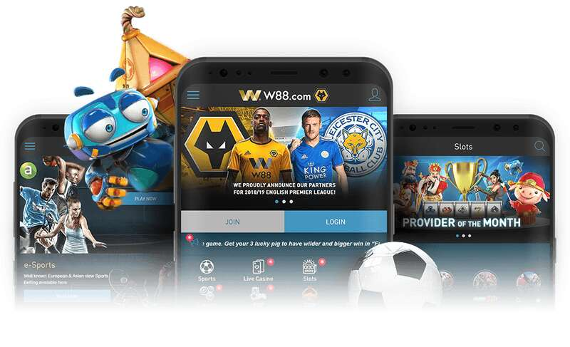 W88Asia Mobile the Best Casino Platform 2021
