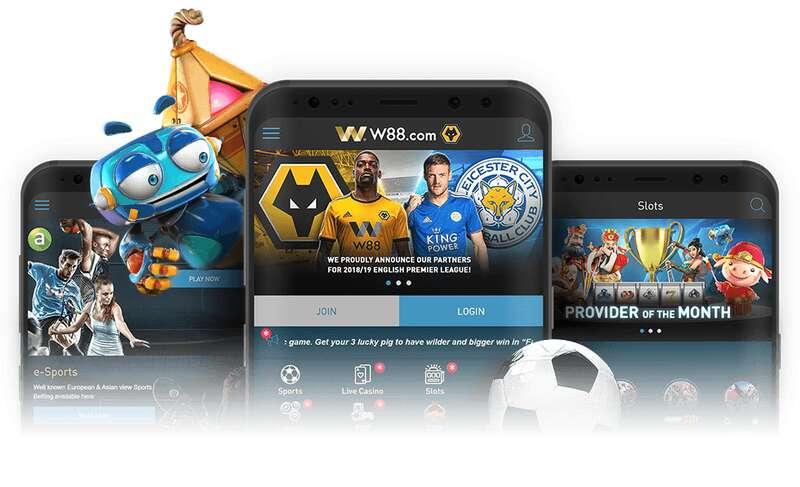 W88Asia Mobile the Best Casino Platform 2021