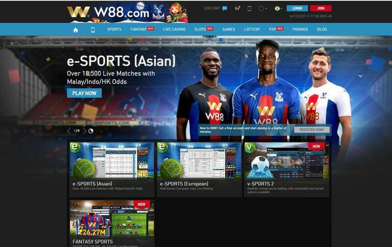 More Games from the Best Indian Bookies - W88 Sportsbook