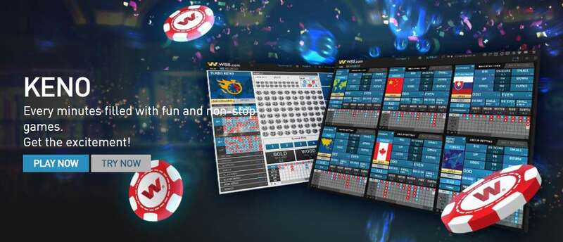 Learn How to Play Keno in W88 2021