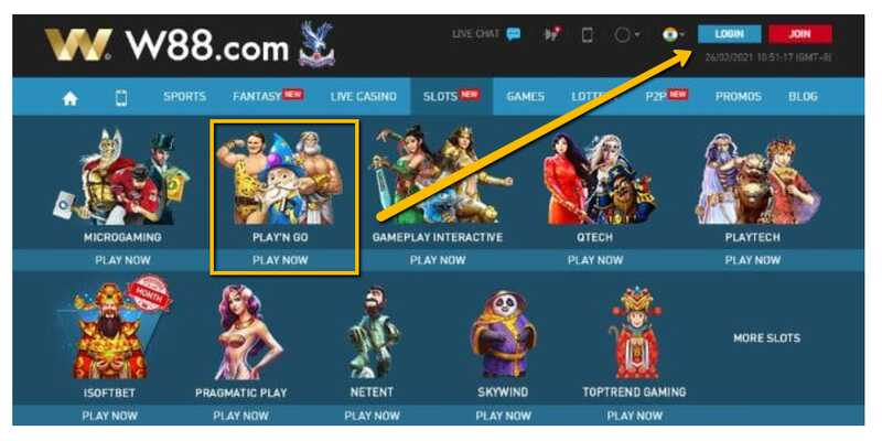 How You Can Access the Famous Play'N Go Slot Games