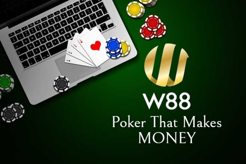 Play Poker That Makes Money at W88 India Casino Platform