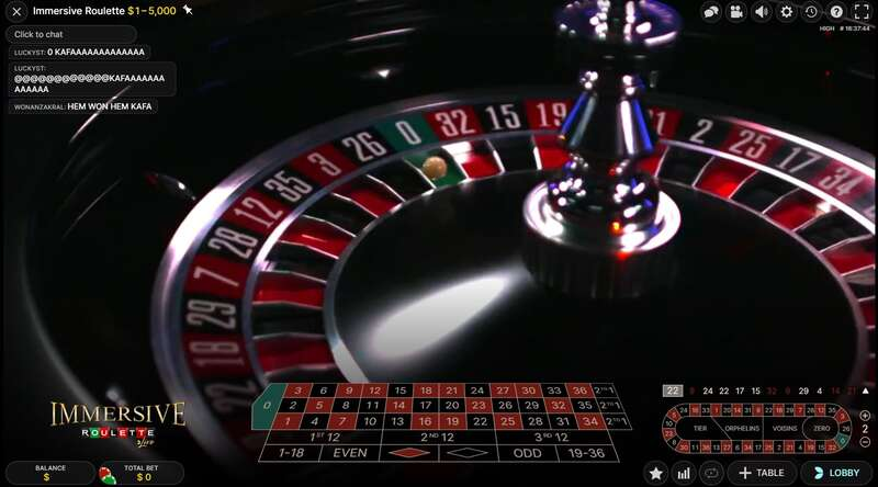 Roulette Feature - W88