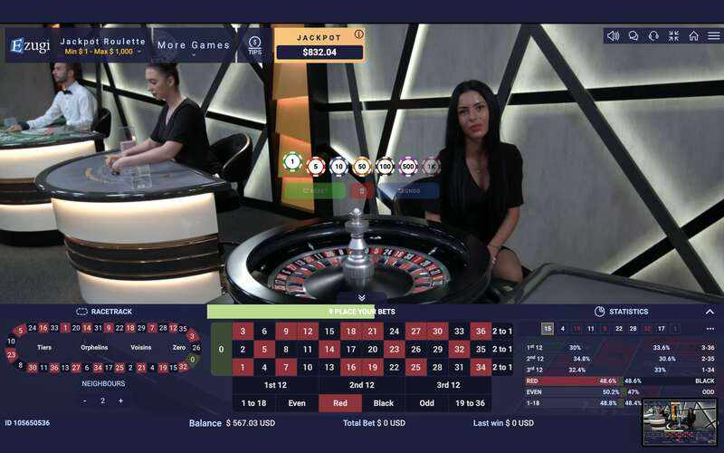 The Best Roulette Game Live Tables Online 2021 - Club Ezugi